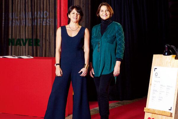 Silvia Robertazzi and Antonella Dedini at Coex, Seoul ⓒ DESIGN HOUSE Inc.