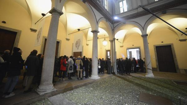 2 Febbraio 2016. Cinema Nascosto #1 al Conservatorio Giuseppe Verdi di Milano. Foto di Giulia Virgara