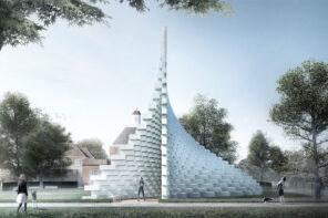 A Londra il Serpentine Pavilion di BIG