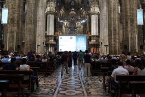 Il cinema nel Duomo di Milano
