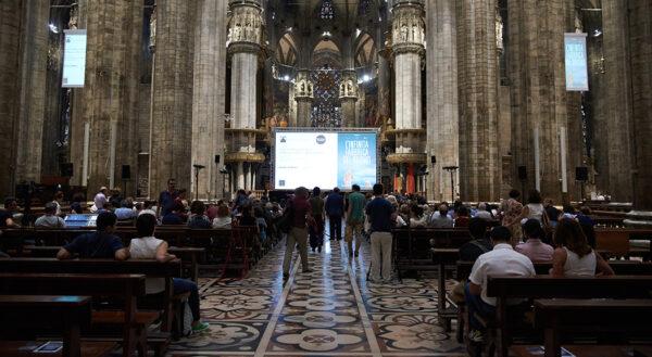 Una serata speciale in cattedrale con la proiezione del film documentario L'infinita Fabbrica del Duomo © Viviana Di Matteo
