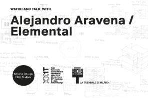 Alejandro Aravena, Triennale di Milano 18 luglio 2016