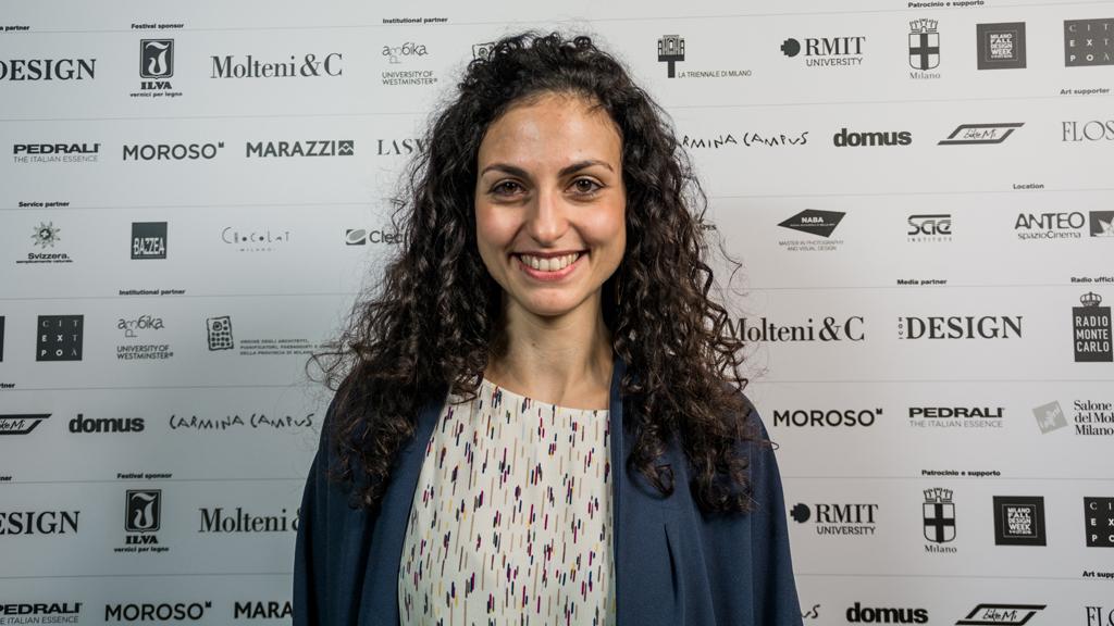 Uno dei membri del progetto di ricerca ADAPT-r ITN. Cecilia De Marinis, RMIT Europe / Royal Melbourne Institute of Technology, Spain @ Samantha Calligaris