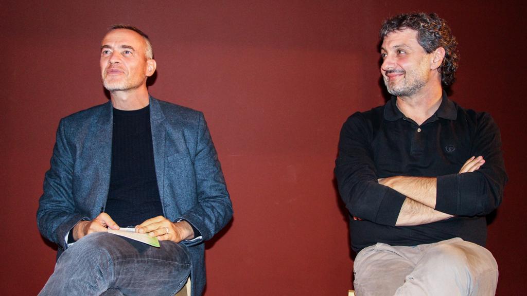 Stefano Cardini (Icon Design) con Vincenzo Linarello (Cangiari) © Annalisa Moschini
