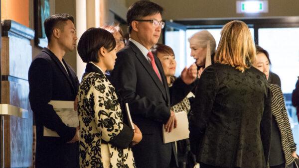 La delegazione coreana al MDFF © Chiara Fusar Bassini