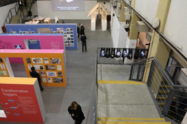 La rassegna di MDFF durante la mostra ADAPT-r, presso Ambika P3, Londra (8-9 Dicembre 2016) © Dakota Photos - Ubitex Ivest. SL