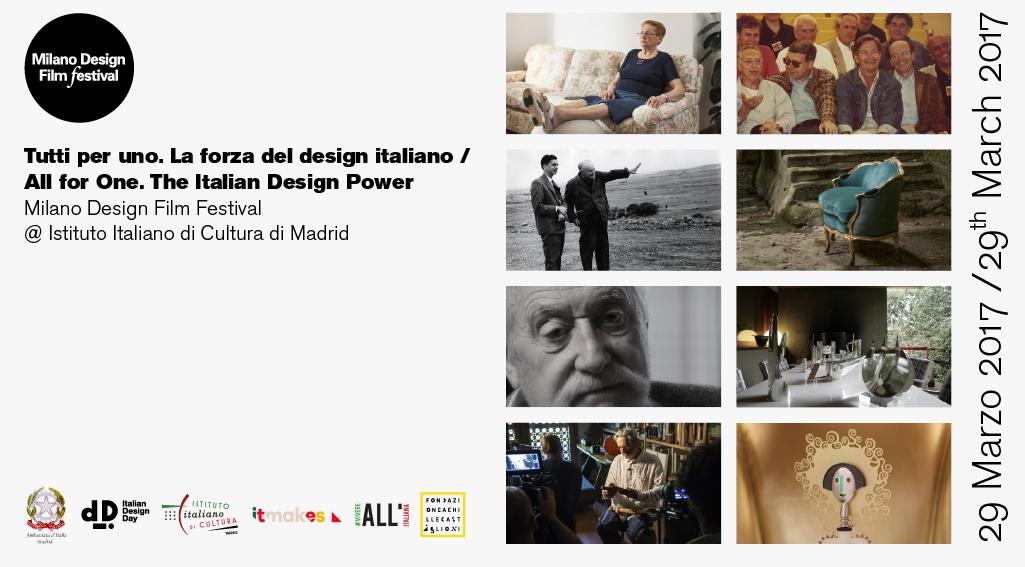Appuntamento a Madrid con una rassegna di titoli sul design italiano