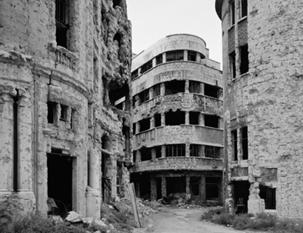 Beirut 1991, ©Gabriele Basilico/Studio Gabriele Basilico