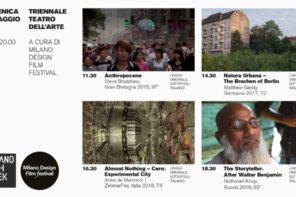 Atropocene&Architettura. MDFF per Milano Arch Week 2019